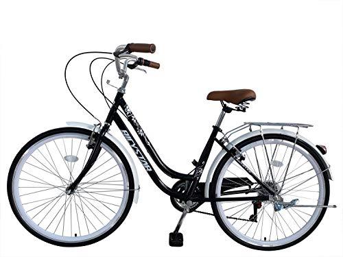 E-ROCK Trekking Bike EX-5 Hardtail 26 Zoll Fahrrad Damenfahrrad Citybike Fitness Bike