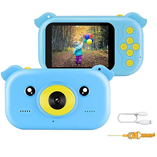 Lowest Prices! 12MP Ultra-Thin Toys Camera HD Video Action with 2.4 inch 1080P Screen & Lanyard Anti...