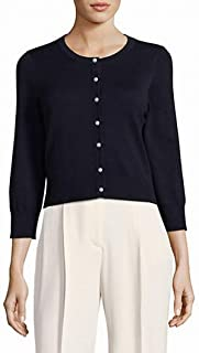 Karl Lagerfeld Paris Women's Cardi with Pearl Buttons