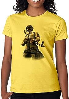 Gamer Fan Soldier Chicken Dinner Custom Made Women's T-Shirt