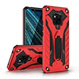 Case for Huawei Mate 9 case,Static Series case with Military Grade Drop Tested Shockproof and Protection Kickstand Cover for Huawei Mate 9 5.9 inch (red, Huawei Mate 9)
