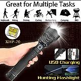 Hellste Taschenlampe Der Welt Aufladbar Usb Taschenlampe Kraftmax 7000 Lumen