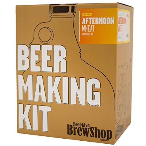 Brooklyn Brew Shop - microcervecería Kit de trigo por la tarde