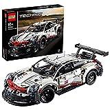 LEGO Technic Porsche911RSR, Auto da Corsa,Set di Costruzioni Avanzato,Modello da Collezione per Ragazzi e Veri Appassionati di Automobili e Motori, 42096