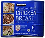 Kirkland Signature chicken breast, packed in water, premium chunk, 6 12.5-ounce cans - Pack of 2