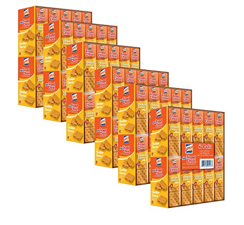 Lance Toast Chee Cheddar Sandwich Cracker (40 pk.) (pack of 6)