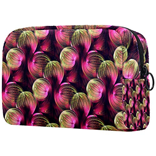 Abstractfractalpattern Travel Toiletry Bag, Waterproof Travel Bags, Toiletry Bag for Women and Girls