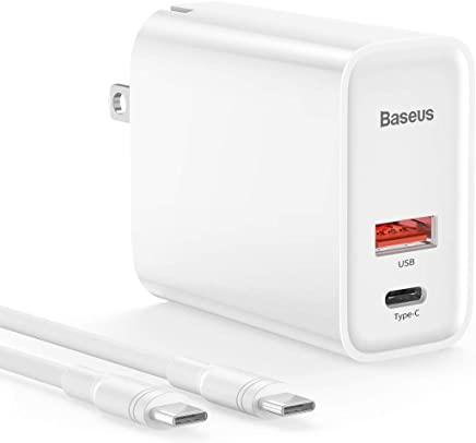 30W USB-C PD Car Charger,Full Aluminum Alloy Body(Type C+USB A),Support PD3.0//QC3.0//QC4.0+//Huawei SCP for iPhone X//Xr//Xs Max//iPad//MacBook//Samsung GS9 and More