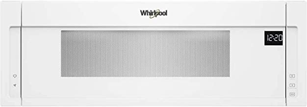 Whirlpool 1.1 Cu. Ft. White Low Profile Microwave Hood Combination - WML55011HW
