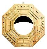 DWhui Feng Shui Bagua Espejo con Espejo Tradicional China Conflicto/Convexo Espejo Bagua for la Protección (Color : Konkaver Spiegel)