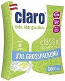 Claro Classic Geschirrspültabs - Phosphatfrei/Biologisch abbaubar - 100 Stück