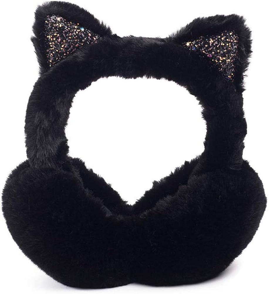 gorro de oreja plegable anti-congelaci/ón de protecci/ón auditiva orejeras lindas de invierno para ni/ñas bolsos de invierno Orejeras
