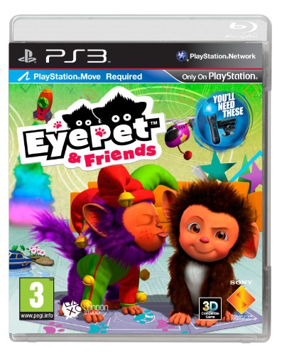 Eyepet and Friends (PS3) - [Edizione: Regno Unito]