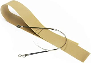 LICTOP 20-inch Hand Heat Seal Closer Impulse Sealer Accessories Repair Kit Heat Elements PTFE Cloth Covers(2 Pcs)
