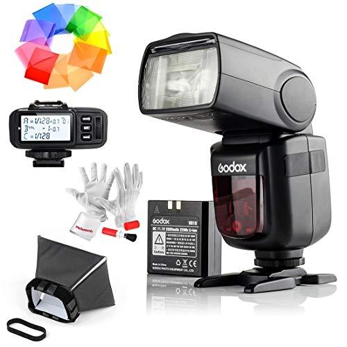 Godox Ving V860IIS 2.4G GN60 TTL HSS 1/8000s Li-on Battery Camera Flash Speedlite for Sony - 1.5S Recycle Time 650 Full Power Pops Supports TTL/M/Multi/S1/S2