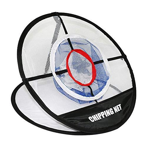 Toomett Golf Net Pop Up, zusammenklappbares tragbares Golf Chipping Net Übungsnetz für drinnen und draußen, Hinterhof
