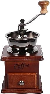 アクセスが簡単な引き出しコーヒーグラインダー、コーヒーミル、ハンドグラインダー、家庭用Aeropress用ドリップコーヒーオフィス
