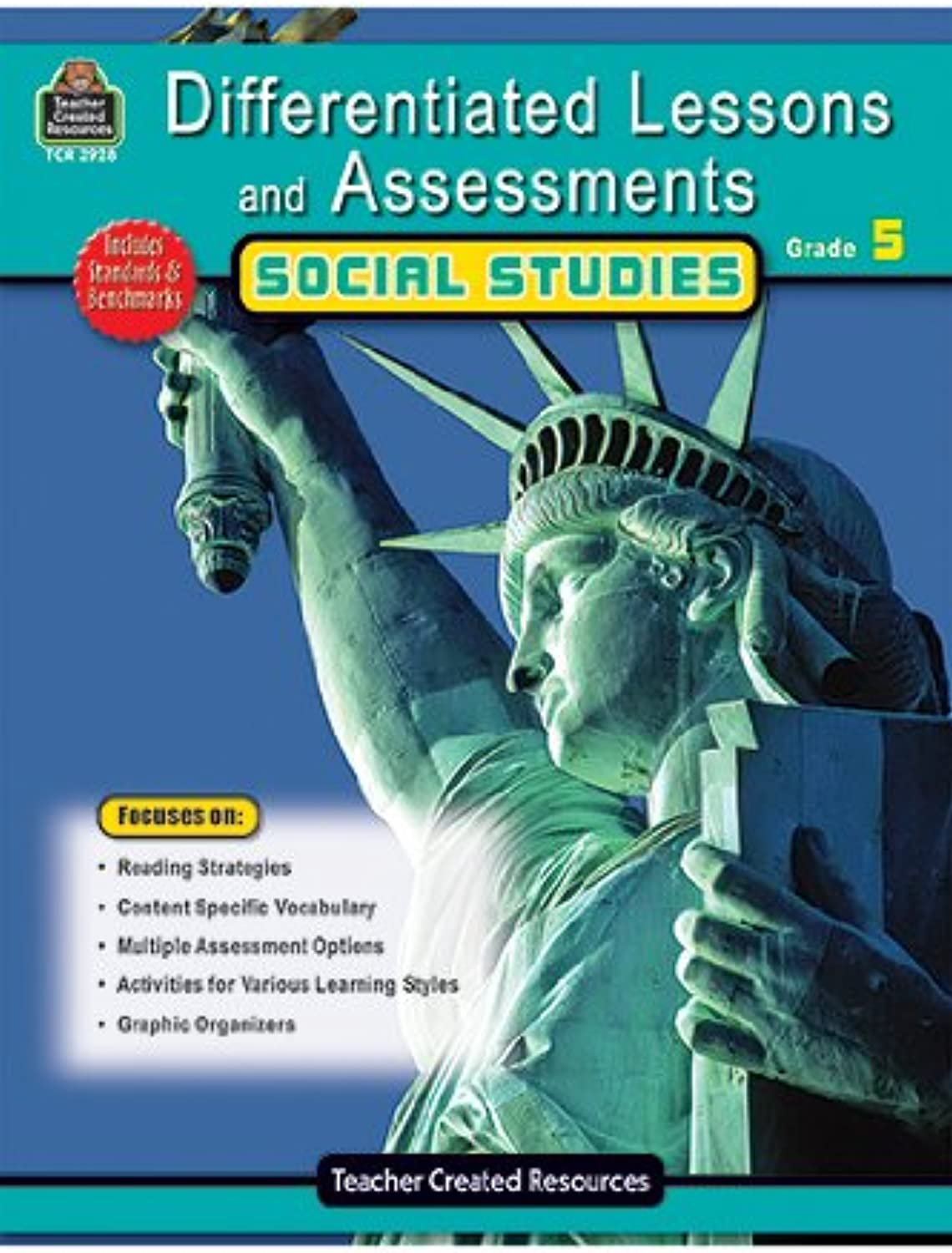 Teacher Created Resources 2928 Differentiated Lessons & Assessments Social Studies Grade 5