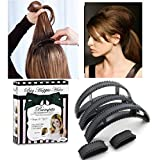OUT OF BOX Hair Clip Volumizing Puff Maker for Women - Set of