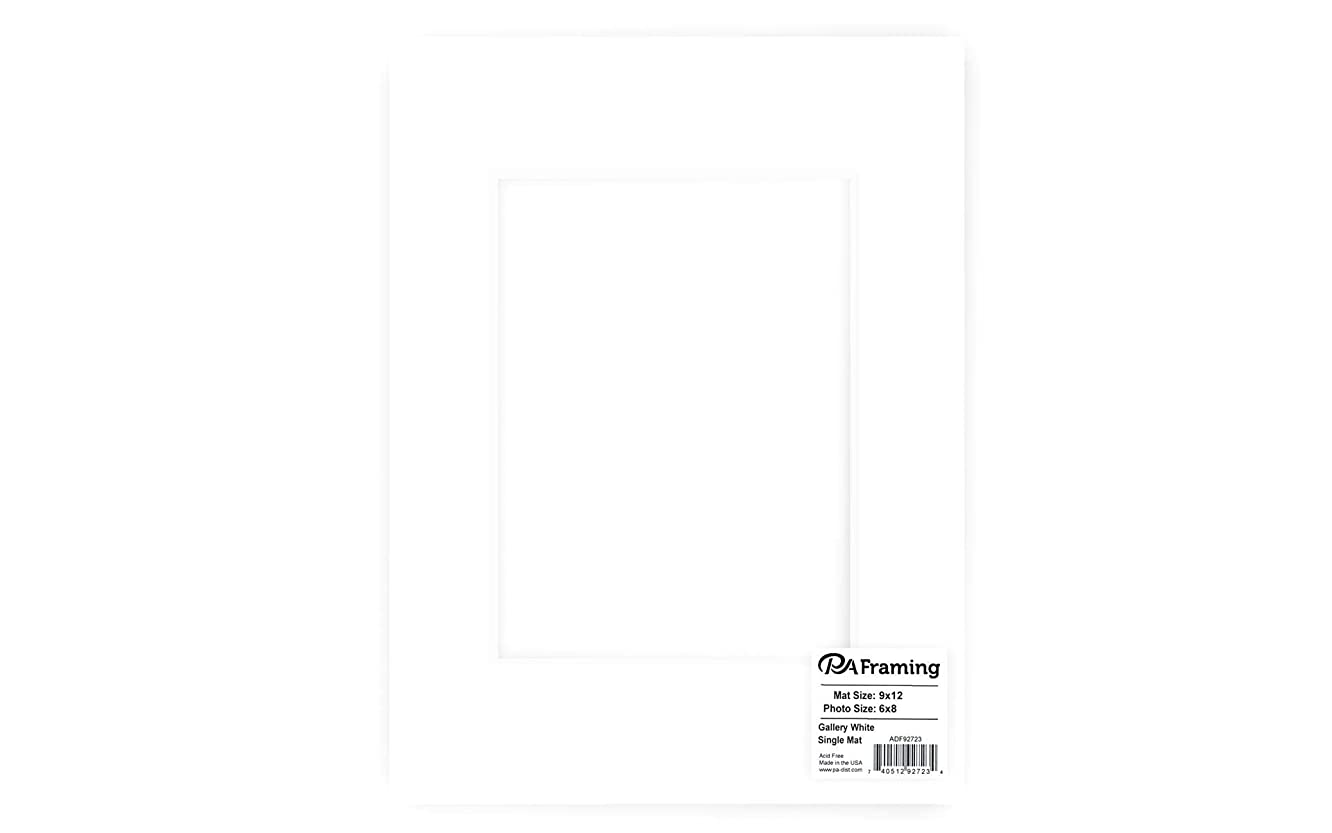 Pre-cut Double Thick Gallery Photo Mat Board by Ac?