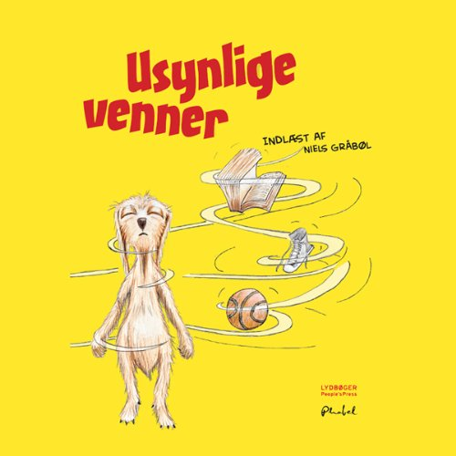 Usynlige venner [Invisible Friends] audiobook cover art