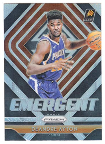 2018-19 Panini Prizm Emergent SILVER Refractor #1 Deandre Ayton Phoenix Suns Official NBA Basketball Trading Card