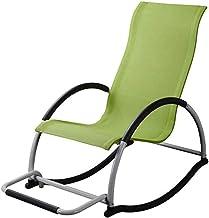 Lazy Getaway Rocking Chair Garden Portable Rocking Chair,Camping Travel Sun Lounger Chair, Simple Modern Leisure Home Rock...