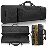 Sunfiner 【Upgraded】 Urban Series Double Soft Rifle Case,Durable Tactical Long Rifle Bag & Multi-Function Gun Bag, Prefect for Hunting, Shooting and Other Outdoor Activities