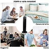 Zoom IMG-1 costway tower fan ventilatore a