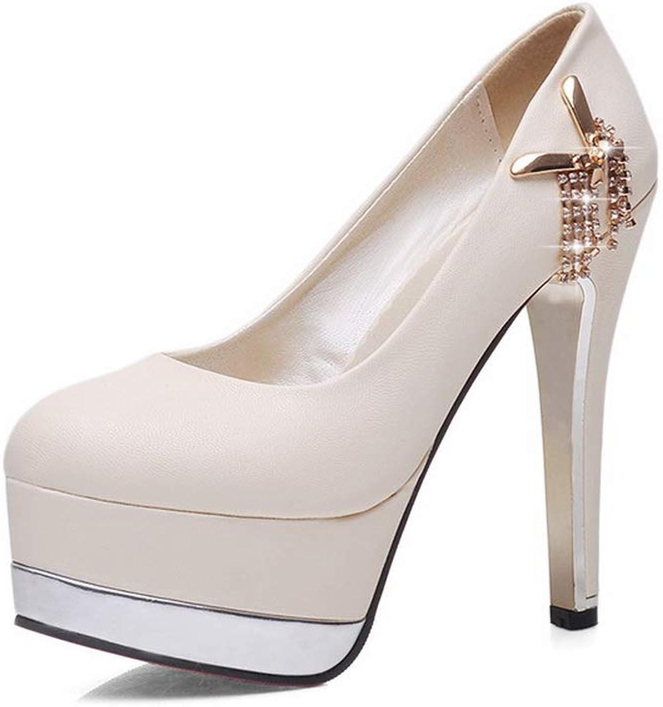 1TO9 Womens Dance-Ballroom Platform Solid Urethane Pumps shoes MMS06382
