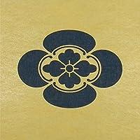 ステンシルシート 木瓜 家紋 3サイズ型紙 (10cm)
