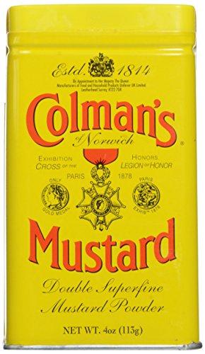 Colman's Dry Mustard 4 oz