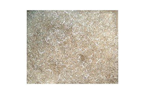 Bellaflor Lametta Engelshaar gelockt 250 Gramm Silber