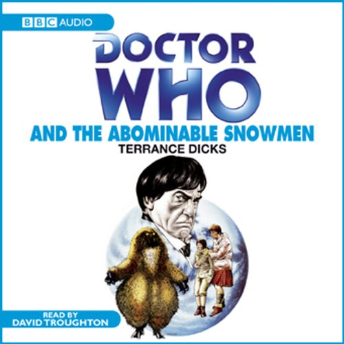 Doctor Who and the Abominable Snowmen audiobook cover art