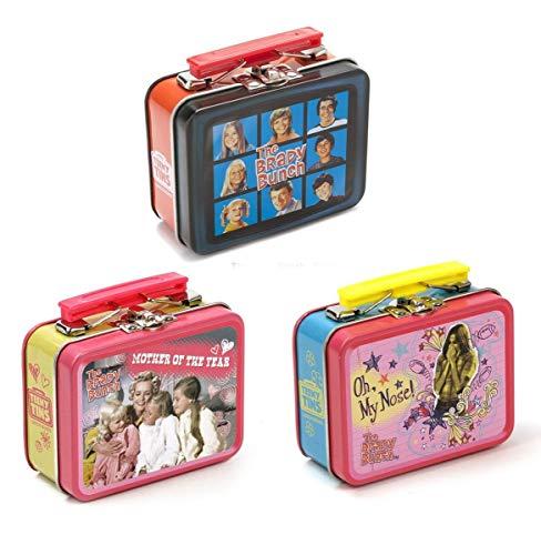 InCogneato Retro TV Teeny Tin Lunch Box, 3 Random...