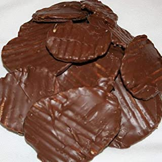 Chocolate Covered Potato Chips (No-Melt Guarantee) (Milk Chocolate, One Pounds)