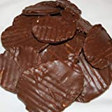 Chocolate Covered Potato Chips (No-Melt Guarantee) (Milk Chocolate, One Pounds)