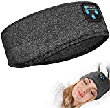 Fulext Sleep Headphones Bluetooth, Upgrade Wireless Sports Headband Headphones with Ultra-Thin HD Stereo Speakers Long Time Play for Side Sleepers Running Yoga Travel
