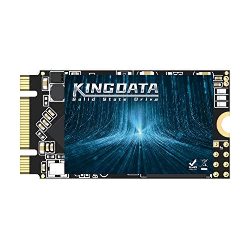 KINGDATA Disque SSD M.2 2242 128Go Ngff Interne Disque Dur 1To 500go 250go 120go pour Ordinateur Portable SATA III 6Gb / s Le Bureau Haute Performance (128Go,M.2 2242)