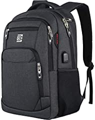 Storage Space & Pockets:One separate laptop compartment hold 15.6 Inch Laptop as well as 15 Inch,14 Inch and 13 Inch Macbook/Laptop.One spacious packing compartment roomy for iPad,mouse,charger,binders,books,clothes,ect.Mesh pockets at side for water...