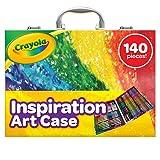 Crayola Inspiration art case - Kit de manualidades para niños (Lápiz de color, Lápiz, Rotulador), 140 piezas , Modelos/colores Surtidos, 1 Unidad