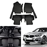 OREALTECH Tapis De Sol De Voiture pour BMW 3 Series F30 2012-2017 Tout Temps Tapis Auto en Cuir XPE Couverture Entière 3D Antidérapant Avant Arrière