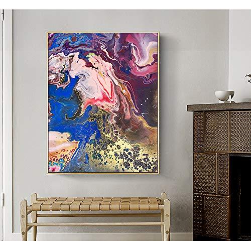tzxdbh Home Decoraties voor Kerstmis Originele Abstract Olie Canvas Schilderen Wanddecoratie Decoratieve Foto's voor Woonkamer-in Schilderen & Kalligrafie Gro 60x75cm No Frame