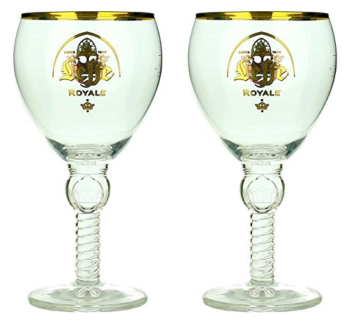 Leffe Royale Biergläser Bier Kelch 33cl (Set von 2) Official Limited Edition