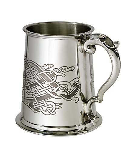 Wentworth Pewter Celtic Birds 1 pint pewter Tankard