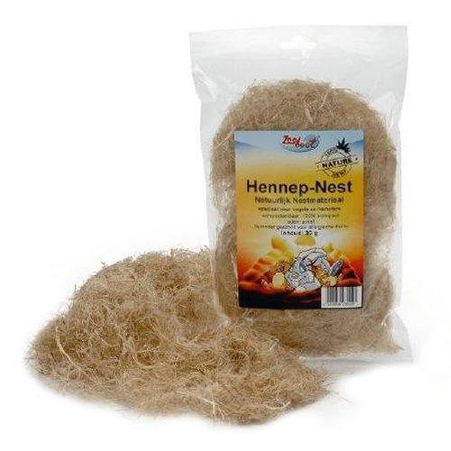 Beeztees 810868 Nestmaterial aus Hanf, 30 g