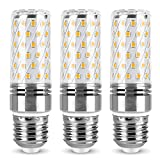 Lámpara E27 Bombilla LED Tipo maíz de 12W Equivalente a Bombillas halógenas de 120W Bombillas LED de Tornillo Edison E27, CA 110V / 230V, Ángulo de Haz de 360 °, Sin Parpadeo, No Regulable, Paquete