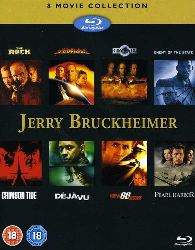 Pack: Jerry Bruckheimer Collection (8 Películas) [Reino Unido] [Blu-ray]