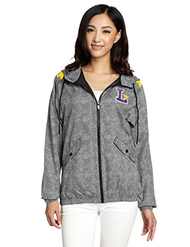 Adidas Los Angeles Lakers Windjack voor dames