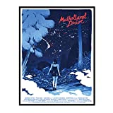 IUYTRF Mulholland Drive Giclee Posters Living Room Wall Art